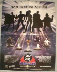 HERO CLIX Promo poster, 17x22, 2003, Unused, more Promos in store