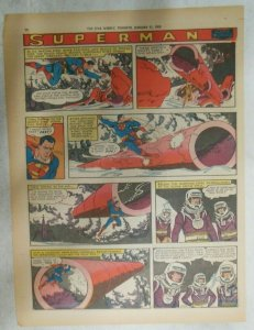 Superman Sunday Page #1005 by Wayne Boring from 2/1/1959 Tabloid Page Size