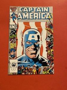 Captain America #323 (1986) Super patriot