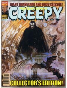 CREEPY #144, VF, Frank Frazetta, Ghouls, It, Flesh, HTF, Warren, Magazine, 1964