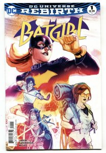 BATGIRL #1-2016 Rebirth-First issue-DC
