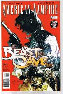 AMERICAN VAMPIRE #20, Cave Beast, Vertigo, 2010, NM ,1st printing, more in store
