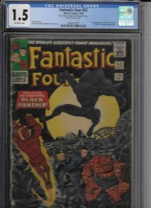 Fantastic Four #52 (1966)