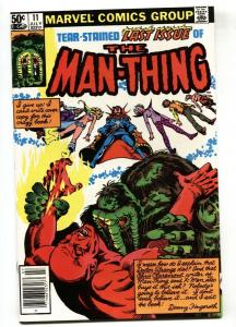Man-Thing #11 Last issue-1981-Marvel NM-
