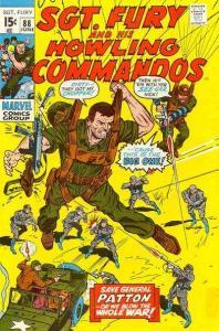 Sgt. Fury #88, Fine- (Stock photo)