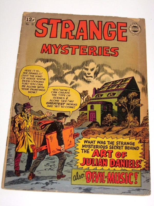 Strange Mysteries #18  - Good+ Condition, Uncertified