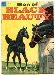 Son Of Black Beauty- Dell Four Color Comics #510 1953 G-