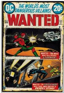 WANTED (1972)  6 FN Feb 1973 Starman, Wildcat/Whisp