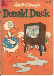 DONALD DUCK 75 G-VG  Jan.-Feb. 1961 COMICS BOOK