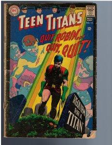 Teen Titans #14 (1968)