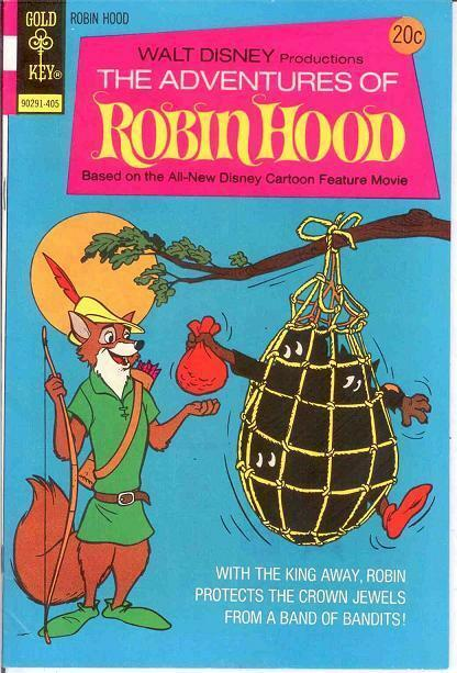 New Adventures Of Walt Disney S Robin Hood 1952 Golden Age Premium