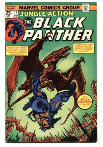 JUNGLE ACTION #15 1975 BLACK PANTHER - comic book