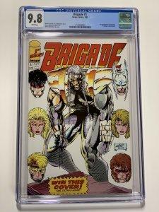 Brigade 1 Cgc 9.8 Image Comics