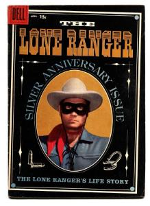 The Lone Ranger #118 1958- Clayton Moore- Dell Western vg+