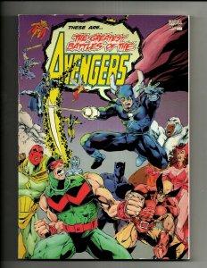 The Greatest Battles of the Avengers Marvel TPB Graphic Novel Comic Book NP11