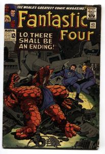 Fantastic Four #43 1965 Jack Kirby- Frightful Four VG