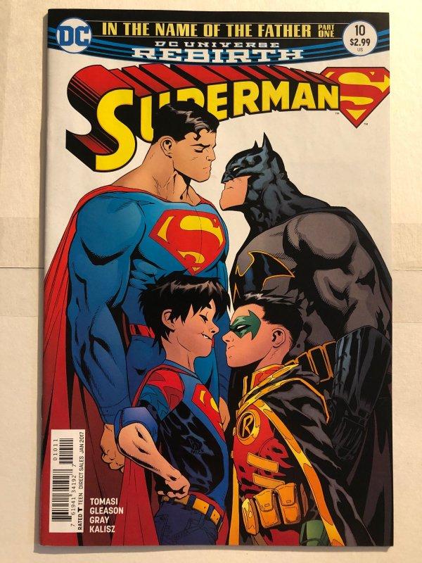 Superman #10 (2016) - Rebirth