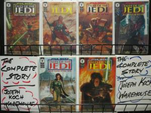 STAR WARS TALES OF THE JEDI DARK LORDS OF THE SITH 1-6