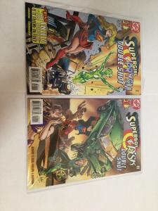Superboy & Risk And Supergirl & Prysm Doubleshot Lot NM Near Mint