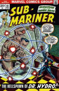 Sub-Mariner, The (Vol. 2) #61 VG; Marvel | low grade comic - save on shipping -