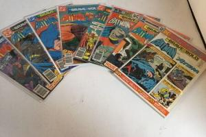 Brave And The Bold 115 122 137 140 141 145 146 Lot Vg Very Good 4.0 Or Better
