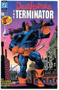 DEATHSTROKE the TERMINATOR 1 2 3 4 5 6 7 8 9 10 11, NM+, Batman, Ravager, 1991