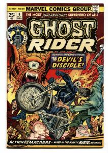 GHOST RIDER #8 1974-MARVEL-comic book vf+