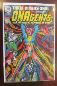 3D Three Dimensional DNAgents #1 6.0 FN (1986)