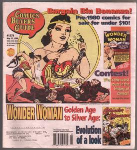 Comic Buyer's Guide 5/22/1998-Wonder Woman issue-buy/sell ads-FN