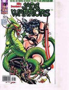 Lot Of 2 Comic Books Image Jade Warriors #1 and Spawn #8  BH50