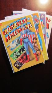 Adventures of Captain America #1 to #4 whole set - VF - 1991