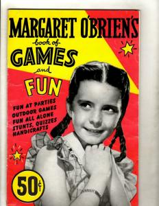 Margaret O'Brien's Book Of Games And Fun 1948 Barmaray Co. Publishers JK1