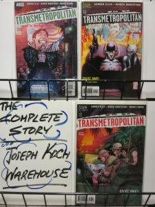 TRANSMETROPOLITAN  (1997 VERTIGO) 34-36  GOUGE AWAY