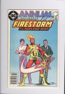 Fury of Firestorm Annual # 3