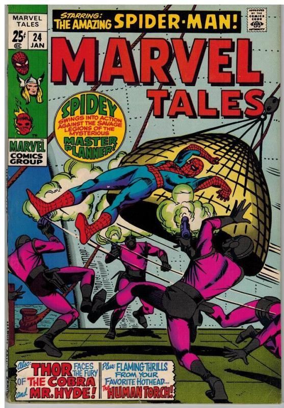 MARVEL TALES 24 FN  Jan. 1970 COMICS BOOK