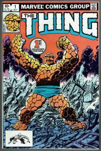 THING #1, VF/NM, John Byrne, 1983, Fantastic Four, more Marvel in store