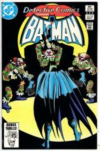 DETECTIVE #531, NM-, Batman, Green Arrow Clowns, 1937 1983, more BM in store