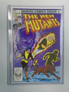 New Mutants #1 Direct edition 7.0 FN VF (1983 1st Series)
