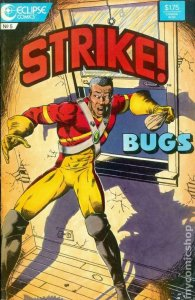 STRIKE #5, VF/NM, Eclipse, 1987, Black Super Hero, more indies in store