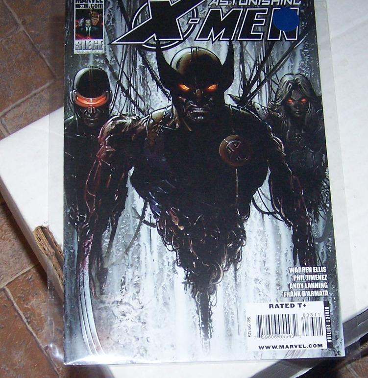 ASTONISHING  x-men  #33 wolverine