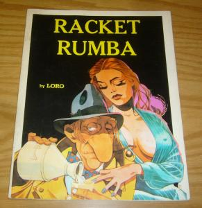 Racket Rumba SC FN flying buttress graphic novel by loro 1977