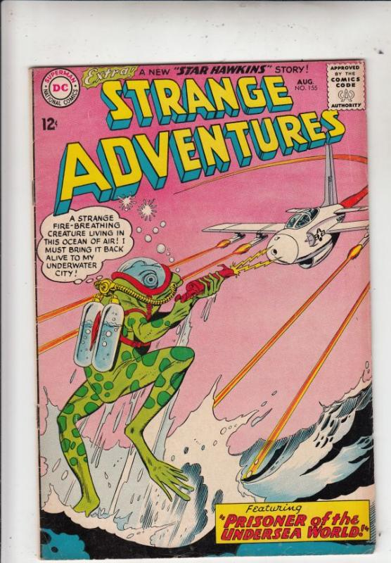 Strange Adventures #155 (Aug-63) FN/VF Mid-High-Grade Star Hawkins