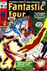 Fantastic Four (1961 series) #105, Fine- (Stock photo)