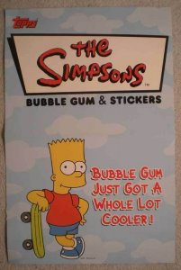 SIMPSONS BUBBLE GUM Promo Poster, 11x17,2002, Unused, more Promos in store