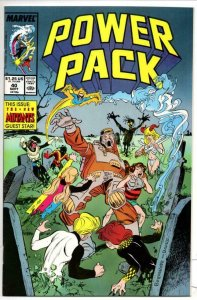 POWER PACK #40, VF/NM, Marvel, 1984 1988, New Mutants more in store