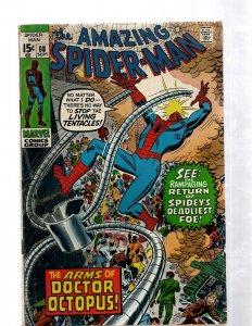 Amazing Spider-Man # 88 FN- Marvel Comic Book Doctor Octopus Elektro Rhino J460