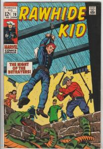 Rawhide Kid #70 (Jun-69) FN/VF Mid-High-Grade Rawhide Kid
