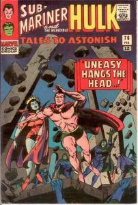 TALES TO ASTONISH 76 FINE+