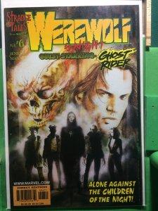 Werewolf by Night #6 guest-starring Ghost Rider