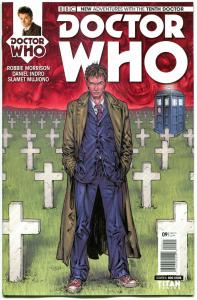 DOCTOR WHO #9 A, NM, 10th, Tardis, 2014, Titan, 1st, more DW in store, Sci-fi